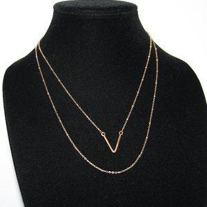 Vintagejelyfish Jewelry - Beautiful gold layered necklace